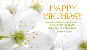 Christian Happy Birthday Wishes Quotes