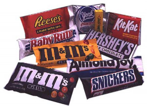 candy bars don't they? The loyalty they bestow on their candy bar ...