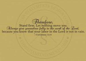 Stand Firm Quotes