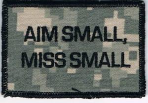 Aim Small, Miss Small #gun #shooting