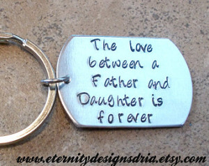 ... gift/daughter gift/The Love between a father and daughter is forever