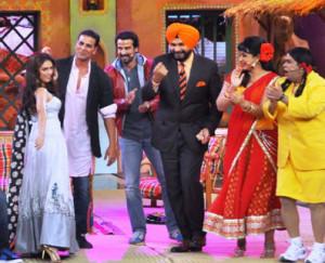Akshay-Kumar-Ronit-Roy-And-Navjot-Singh-Sidhu-on-Comedy-Nights-with ...