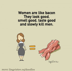 funny-bacon-woman-kill-man