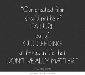 Success Quotes Failure Quotes