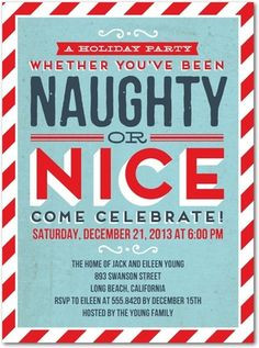 ... Comes Nice - Flat Holiday Party Invitations in Spa | Hello Little One