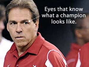 What can I say...I'm a Bama fan...