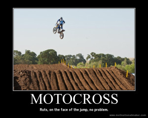 Inspirational Dirt Bike Quotes Motivational posters.