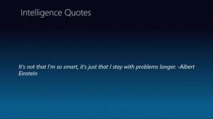 Einstein intelligence quotes