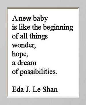 New Baby Is Like The Beginning..