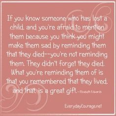 Bereavement Quotes for Loss of Child More