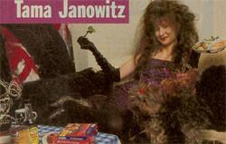 tama janowitz