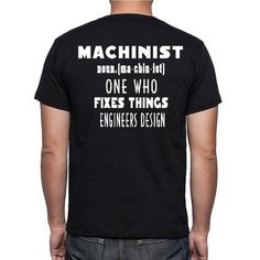 The Machinist T-shirt by DetroitSpeedFactory on Etsy