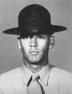 Lee Ermey (Gunnery Sergeant Hartman) When He Was A Actual Drill ...