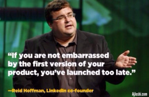 Great innovation quote by Reid Hoffman