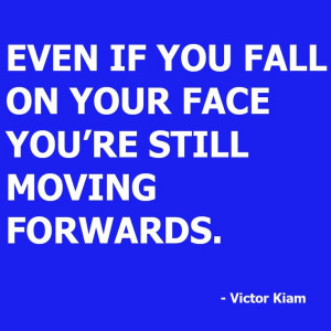 Victor Kiam - Fall on your face