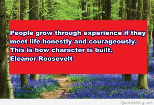 People grow quote