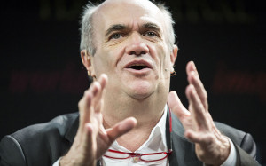 Colm Toibin speaks at the Hay Festival 2015 Picture: Warren Allott