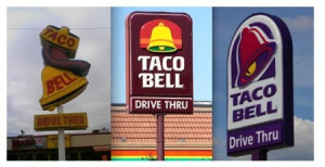 Like being a that Demolition Man Taco Bell taco