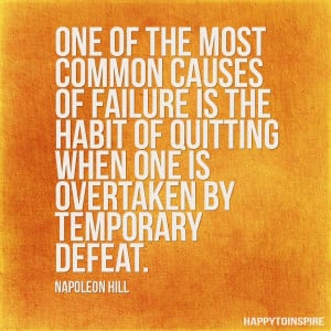 Quote of the Day:Common Causes of Failure