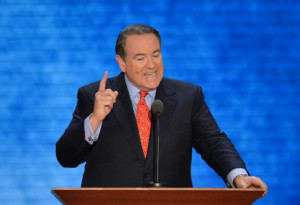 Mike Huckabee Pretends That the Media Is Lying About His