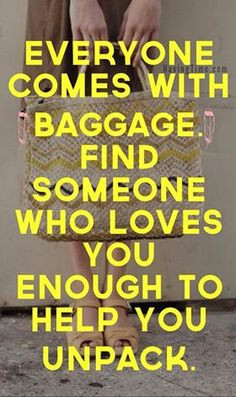 How to Deal With Emotional Baggage Effectively. #quotes #wisdom More
