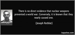 Quotes About Nuclear Weapons