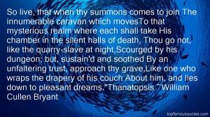Favorite William Cullen Bryant Quotes