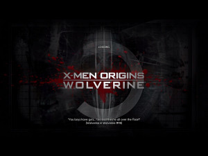 Men Origins: Wolverine (Uncaged Edition) Windows The loading screen ...