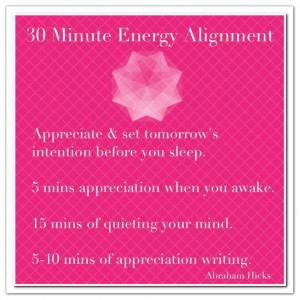 30 Minute Energy Alignment... *Abraham-Hicks Quotes (AHQ859)