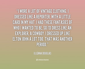 Vintage Clothing Quotes