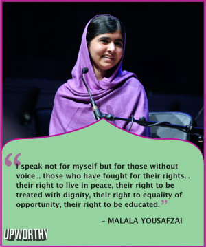 Incredible Quotes From Nobel Prize Winner Malala Yousafzai Confirm ...