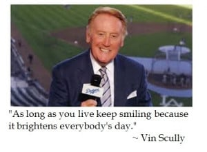 Vin Scully on Disposition