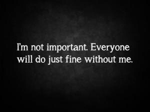 mine depression suicide self harm