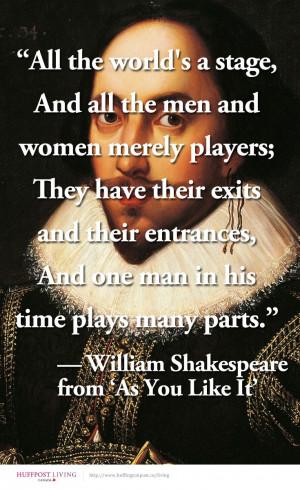 Happy 450th birthday William Shakespeare
