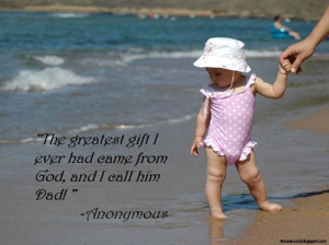 cute fathers day quote for kids