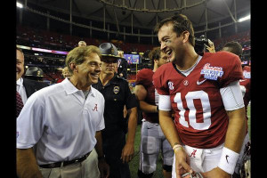 ... Nick Saban in person and had this funny analysis of the Crimson Tide