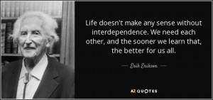 Erik Erikson Quotes