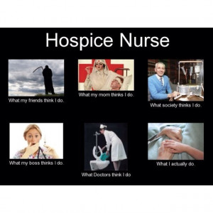 an STNA who deals with death a lot but I want so badly to be a hospice ...
