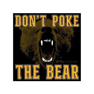 Don't Poke the Bear..