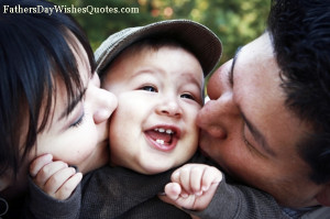 Cute Funny Parents Day Quotes And Sayings with Sweet Family Image