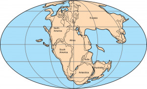 Pangaea, Earth Crust Displacement and Continental Drifts