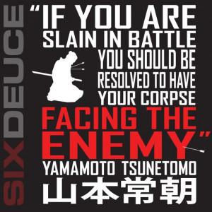 Yamamoto Tsunetomo Quote