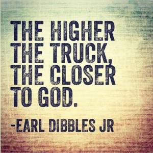 Earl Dibbles Jr Lifted Truck