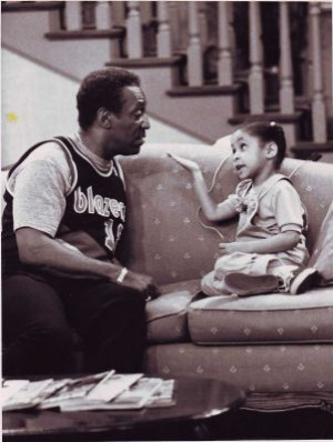 Raven Symone with Bill Cosby