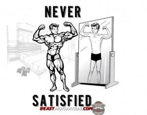 Never Satisfied
