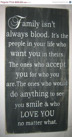 cute quotes about family isnt always blood | images of family isn t ...