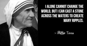 mother teresa quotes mother teresa was an albania born indain roman ...