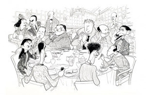 The Algonquin Round Table Cartoon