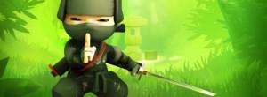 Cute Ninja facebook profile cover