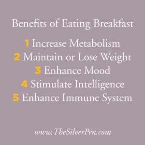 ... The Most Important Meal of the Day: The Benefits of Eating Breakfast
